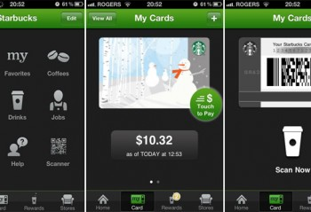 STARBUCKS TESTING MOBILE ORDERING AND PAYMENT