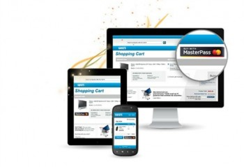 An image showing MasterPass on phone, tablet and online