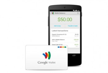 Google Wallet companion debit card