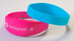 Barclays contactless payments wristband