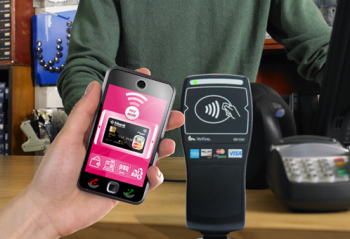 image of mobile payment device