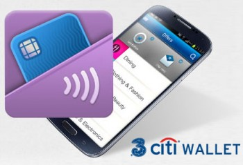 The Citi bank digital wallet at work