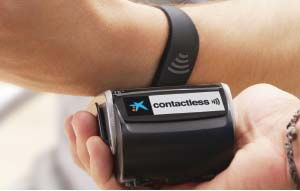 CaixaBank gears up for wearable's with contactless payment technology