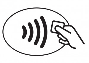 The contactless card symbol