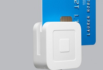 The Square EMV chip card reader
