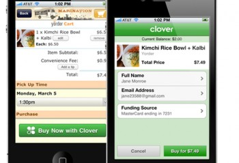 The Clover Mobile app