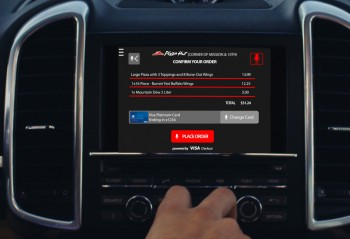 Visa, Pizza Hut and Accenture Develop Connected Car Commerce Experience