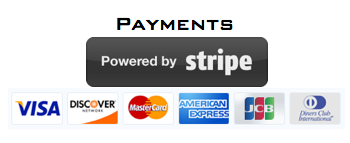 Stripe and payments network logos