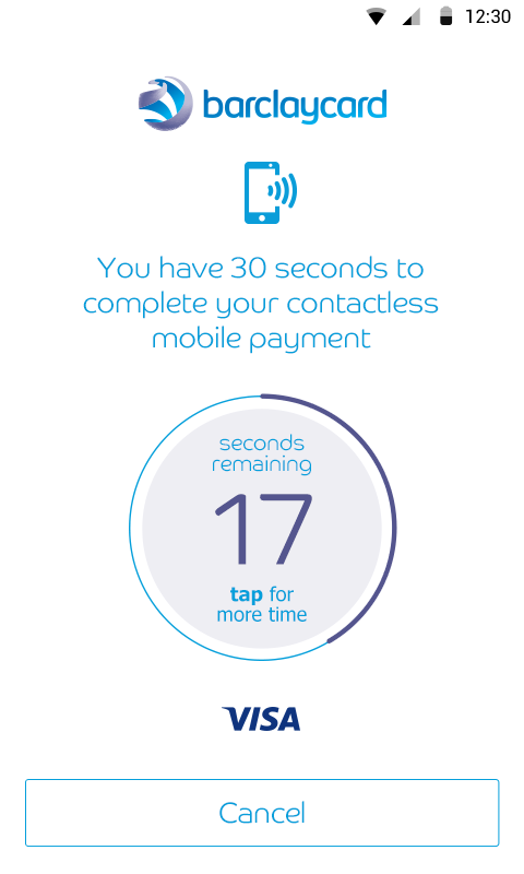 Barclaycard contactless mobile payments for Android phones