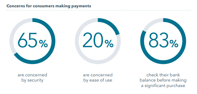Concerns for consumers making payments