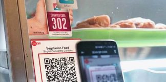 QR payments in Singapore